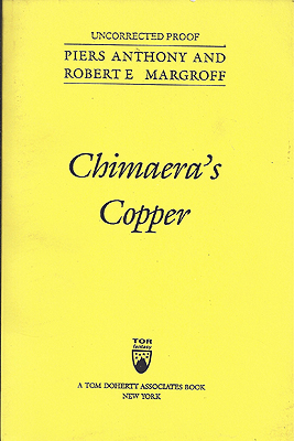 Chimaera's Copper. Piers Anthony.