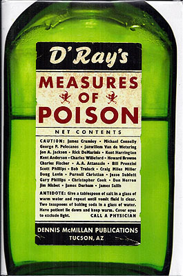 Measures of Poison. Dennis McMillan.