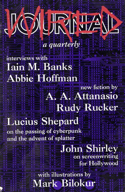 Journal Wired Number One (Winter 1989). Mark Ziesing, Andy Watson.