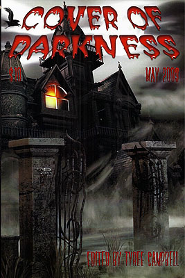 Cover of Darkness (May 2009). Tyree Campbell.