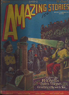 Amazing Stories: March, 1928. AMAZING STORIES.