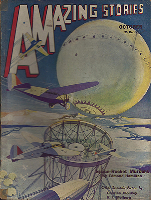 Amazing Stories October 1932. AMAZING STORIES.
