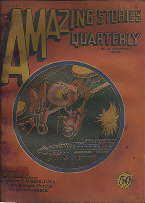 Amazing Stories Quarterly Volume 2 Number 1: January 1929. Amazing Stories Quarterly.
