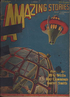 Amazing Stories October 1927. AMAZING STORIES.