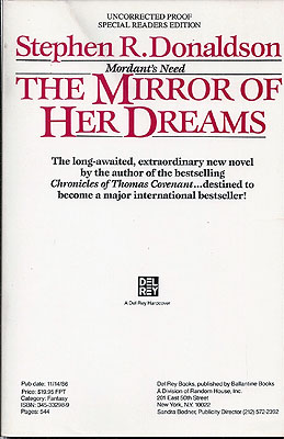 The Mirror of Her Dreams. Stephen R. Donaldson.