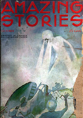 Amazing Stories October 1933. AMAZING STORIES.