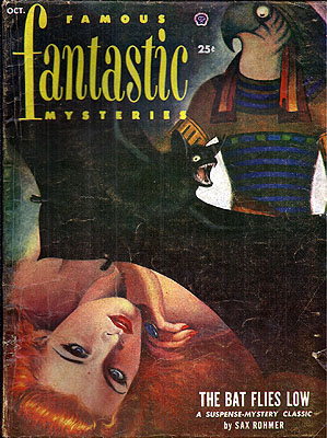 Famous Fantastic Mysteries October 1952. FAMOUS FANTASTIC MYSTERIES.