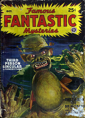 Famous Fantastic Mysteries October 1946. FAMOUS FANTASTIC MYSTERIES.