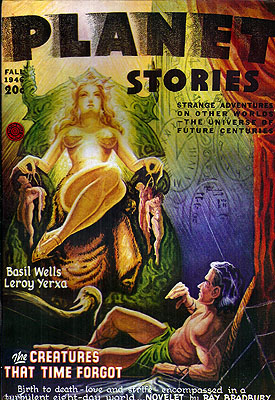 Planet Stories Volume 3 Number 4: June 1941. Malcolm Reiss.