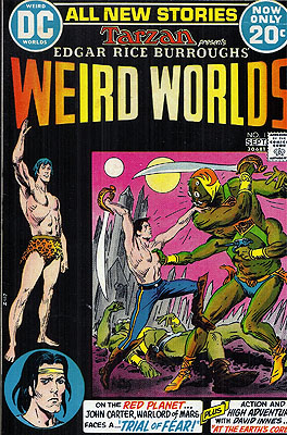 Edgar Rice Burroughs' Weird Worlds. Edgar Rice Burroughs, inspiration.