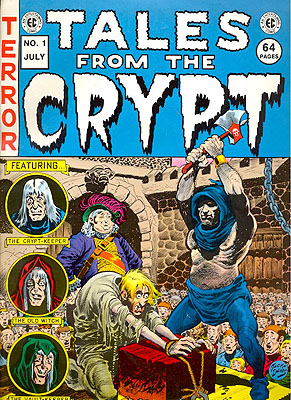 EC Extra Large #1: Tales from the Cryupt. EC COMICS.