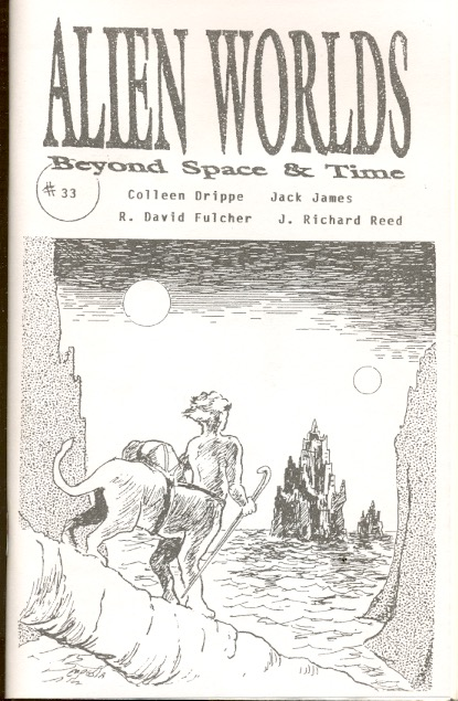 Alien Worlds, Beyond Space and Time #33. FADING SHADOWS.