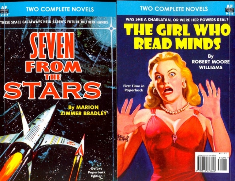 Seven from the Stars / The Girl Who Read Minds. Marion Zimmer / Williams Bradley, Robert Moore.