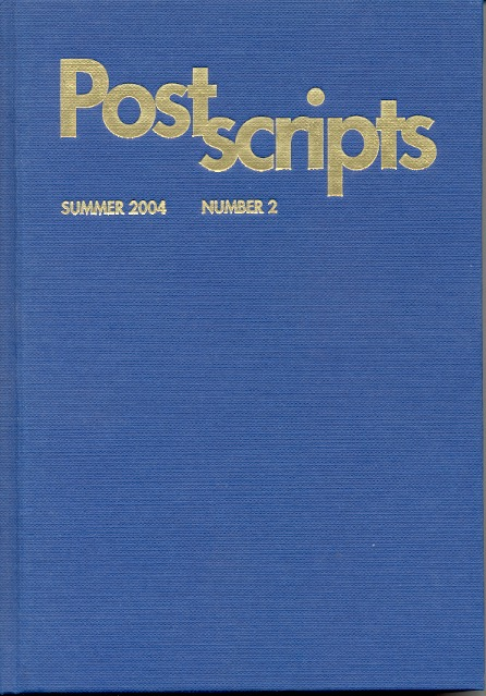 Postscripts 2: Summer 2004. Pete Crowther, Nick Gevers.