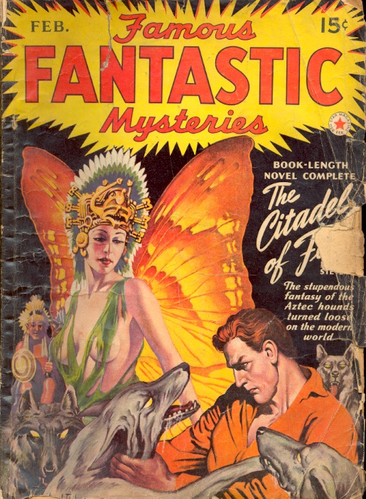 Famous Fantastic Mysteries: February 1942. FAMOUS FANTASTIC MYSTERIES.