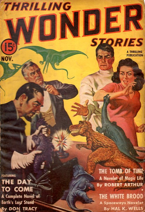 Thrilling Wonder Stories: November 1940. THRILLING WONDER STORIES.