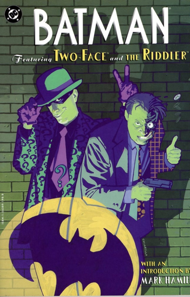 Batman: Featuring Two-Face and the Riddler. Neil Gaiman.