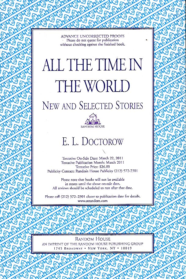 All the Time in the World. E. L. Doctorow.
