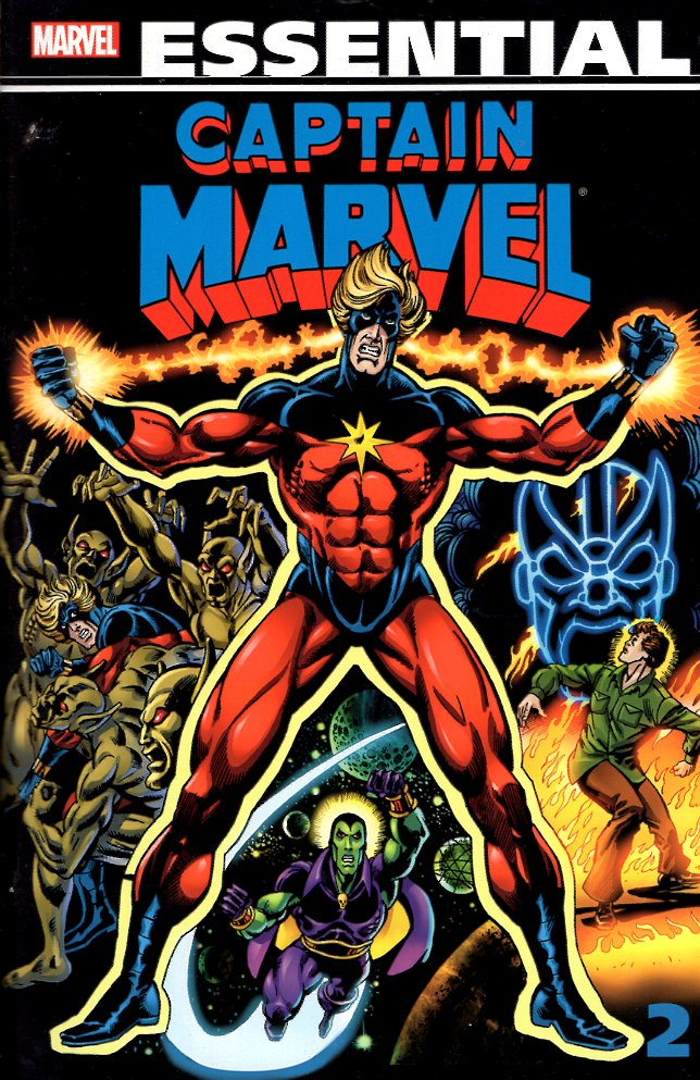 Essential Captain Marvel: Volume Two (2). Gerry Conway.