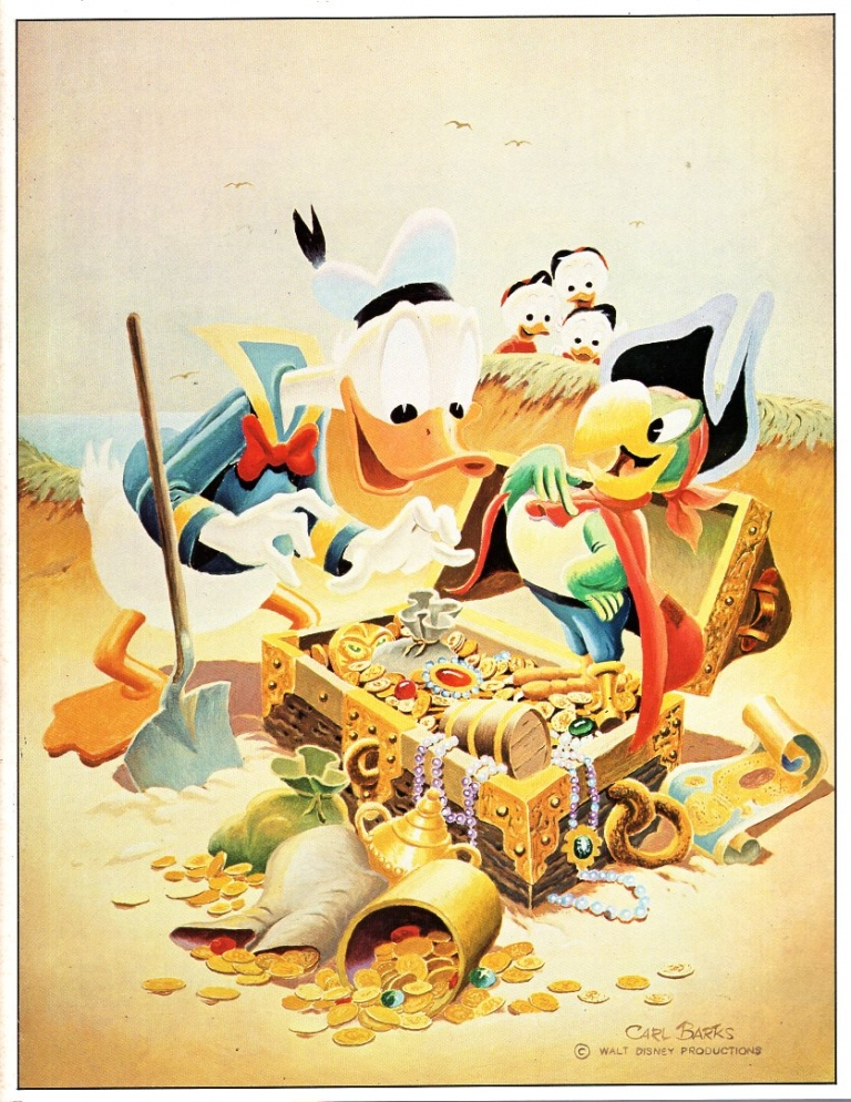 Graphic Gallery Number 7. Russ Cochran, Carl Barks.