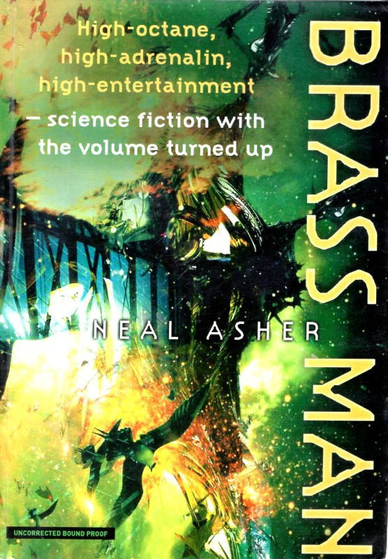 Brass Man. Neal Asher.