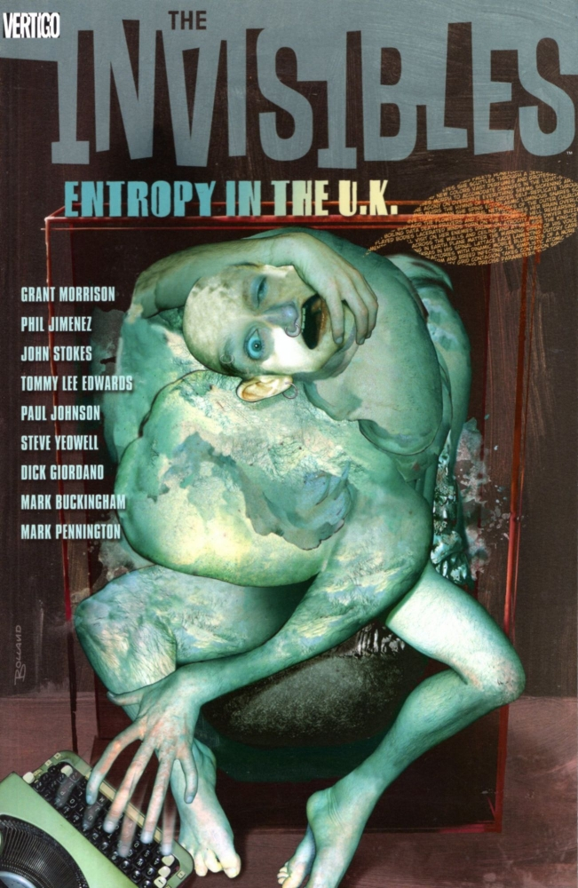 The Invisibles Vol. 3: Entropy in the UK. Grant Morrison, Phil Jimenez, Steve Yeowell.