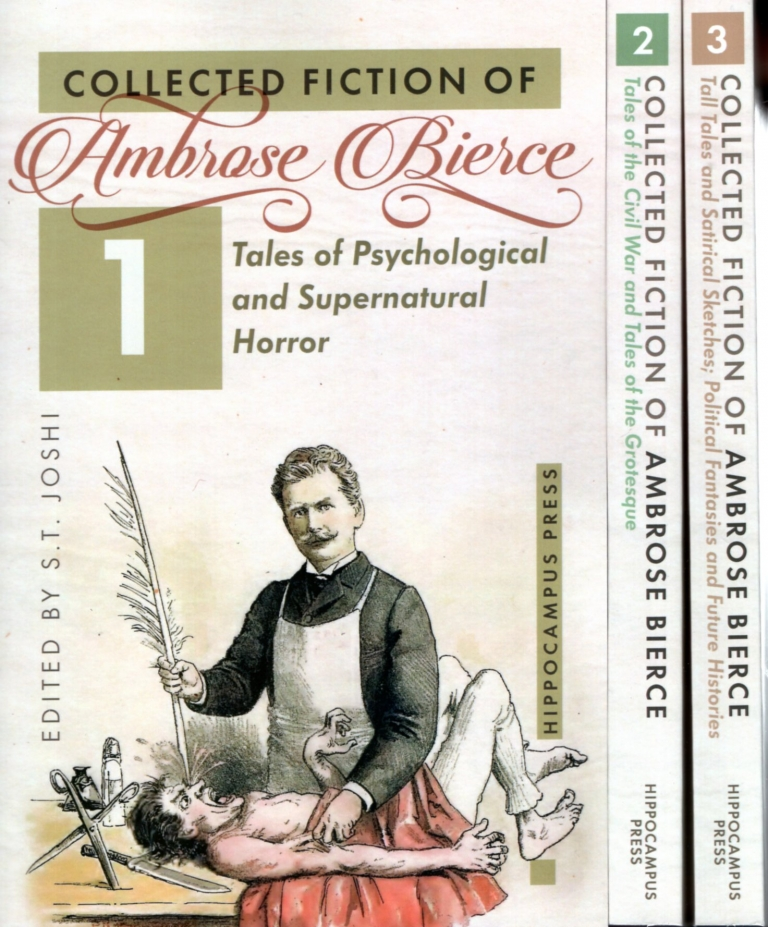 Collected Fiction of Ambrose Bierce Volumes 1,2 and 3. Ambrose Bierce.