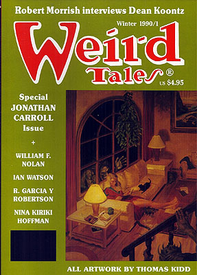 Weird Tales #299: Winter 1990-91. WEIRD TALES