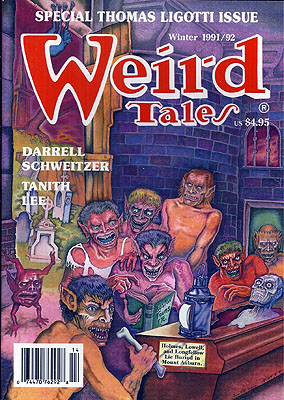 Weird Tales #303: Winter 1991-92, Volume 53 Number 2. WEIRD TALES