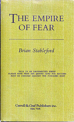Empire of Fear. Brian Stableford