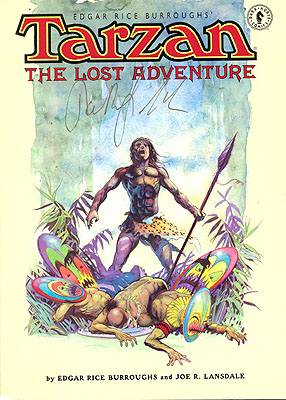 Tarzan The Lost Adventure Book 3. Edgar Rice Burroughs, Joe Lansdale