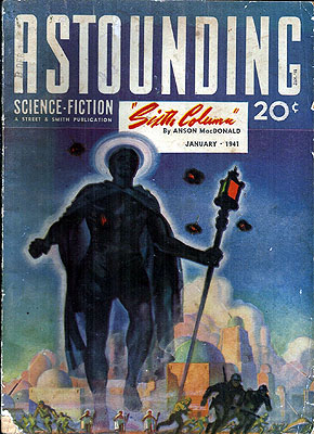 Astounding Science Fiction: January 1941. ASTOUNDING STORIES