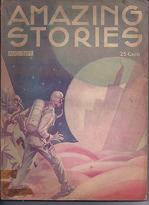 Amazing Stories August/September 1933. AMAZING STORIES.