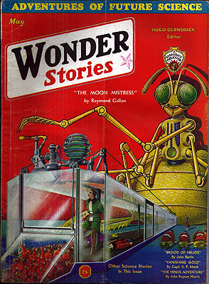 Wonder Stories May 1932. SCIENCE WONDER STORIES