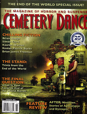 Cemetery Dance Issue #69. CEMETERY DANCE MAGAZINE