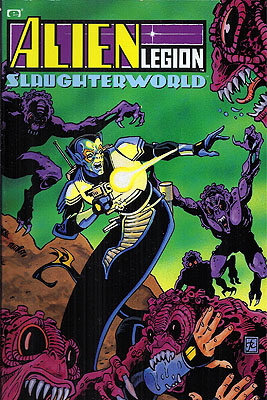 Alien Legion: Slaughterworld. Carl Potts, Alan Zelenetz.