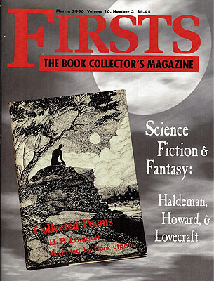 Firsts: Volume 16 Number 2. FIRSTS MAGAZINE