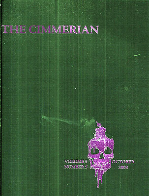 The Cimmerian Volume 5 Number 5: October 2008 (Whole Number 14). Leo Grin