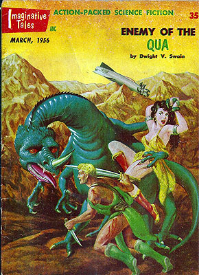 Imaginative Tales: March 1956. William L. Hamling