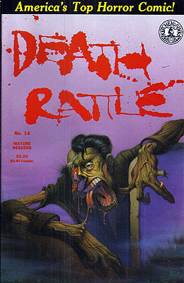 Death Rattle #14. Dennis Kitchen, DEATH RATTLE