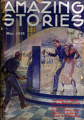 Amazing Stories May 1935. AMAZING STORIES.