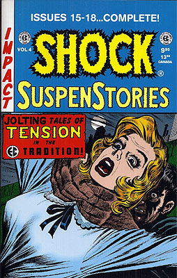 Shock SuspesStories Volume 4, Issues 15-18 Complete. EC COMICS William Gaines
