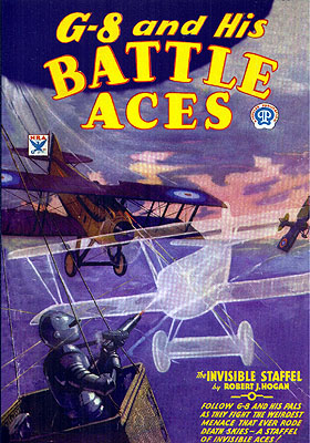 G-8 and His Battle Aces #8: The Invisible Staffel. G-8, His Battle Aces