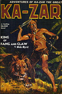 Adventures of Ka-Zar the Great. Bob Byrd