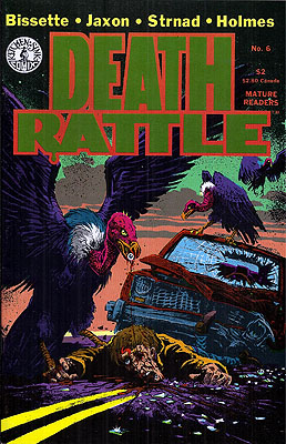 Death Rattle #6. Dennis Kitchen, DEATH RATTLE
