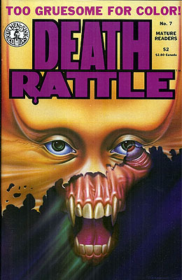 Death Rattle #7. Dennis Kitchen, DEATH RATTLE