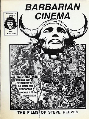 Barbarian Cinema Issues 1 and 2. BARBARIAN CINEMA, Dennis McHaney