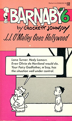J.J. O'Malley Goes to Hollywood (Barnaby Number 6). Crockett Johnson.