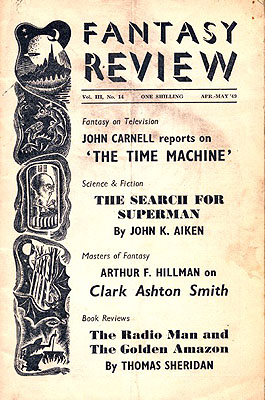 Fantasy Review April/May 1949. FANTASY REVIEW, Walter Gillings