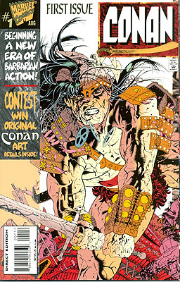 Conan Numbers 1 through 11. Various writers, re: ROBERT E. HOWARD.